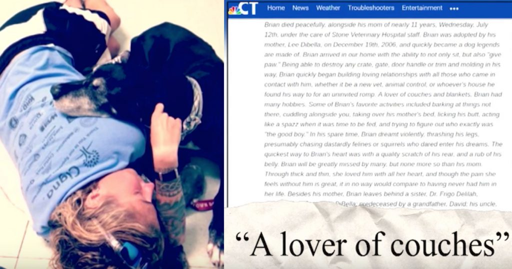 Mom Gets Obituary Published For Her Dog Of 11 Years After First Being Denied