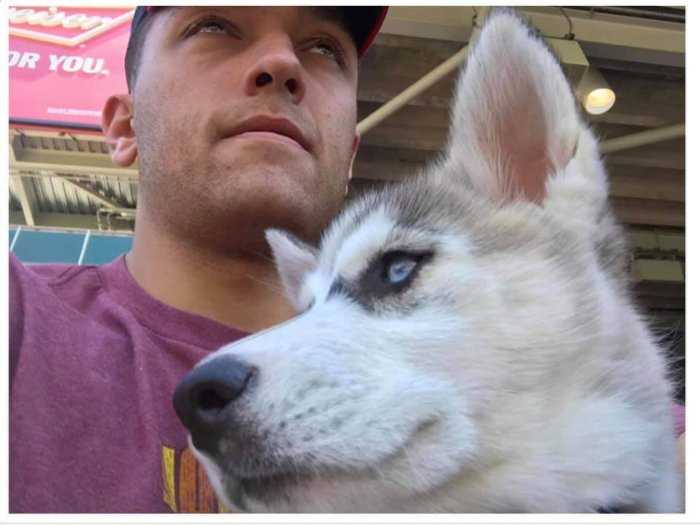 Marine seeks his Siberian husky after she was given away while deployed