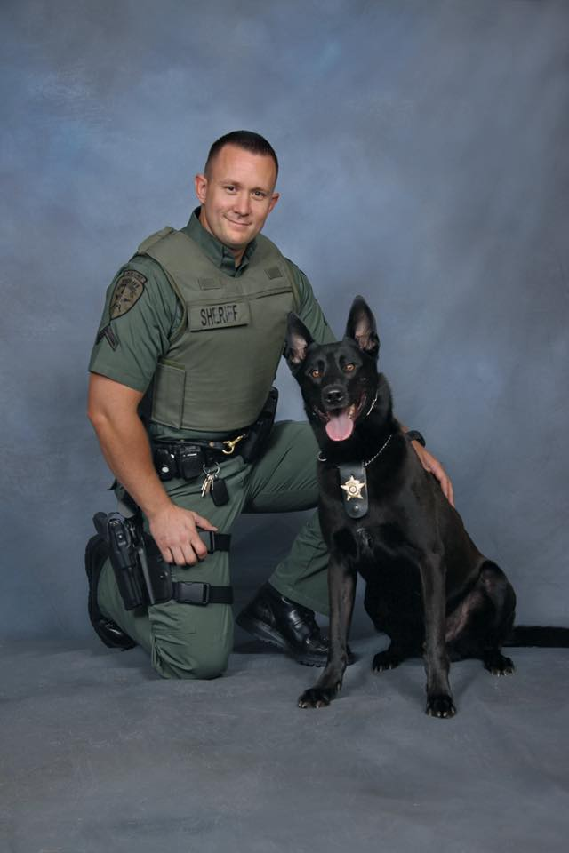 Police K9 dead after being shot by deputy in chaotic domestic dispute call