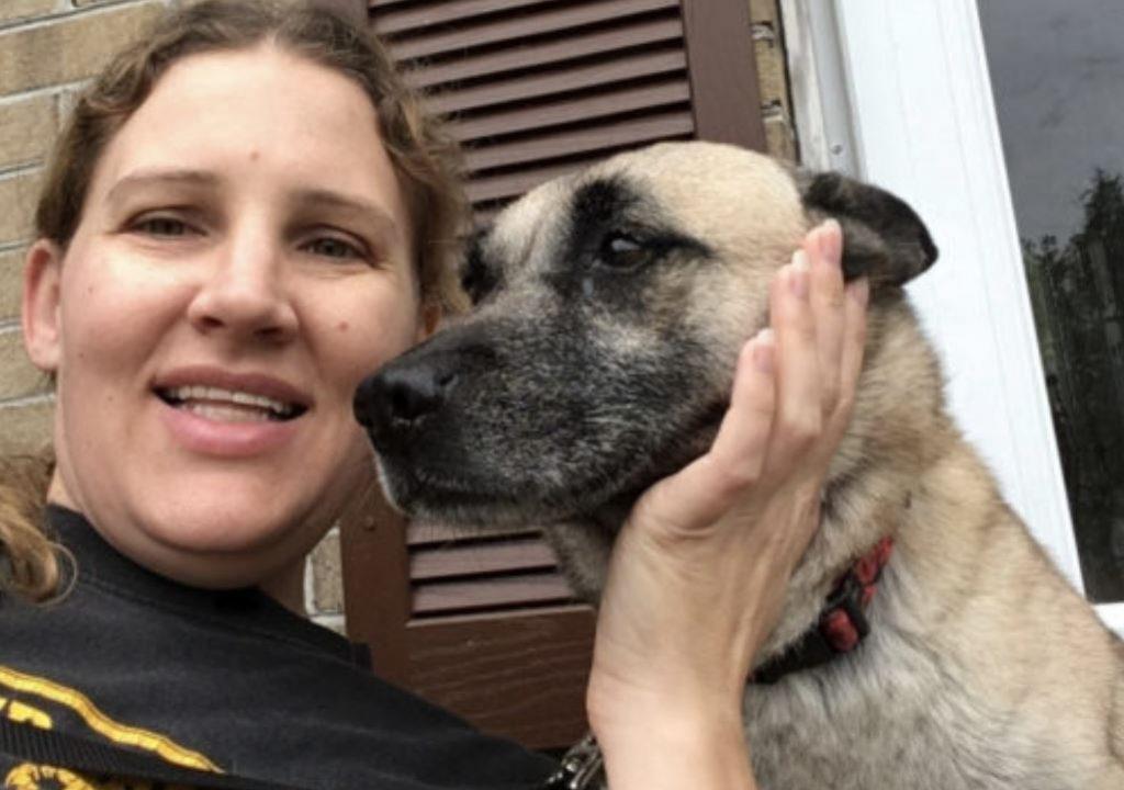 Senior Dog Surprises Veteran With Her Zest For Life