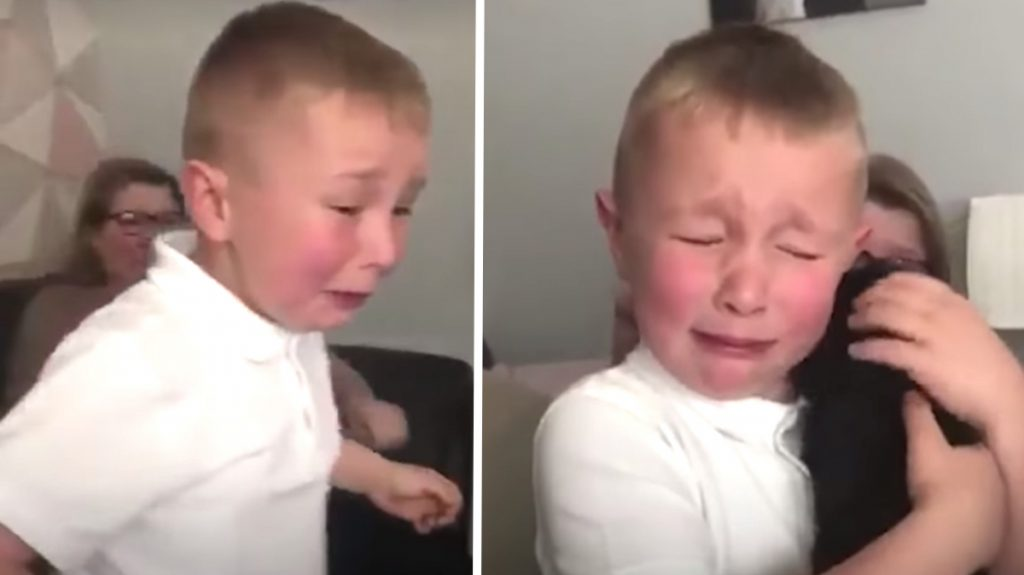 Boy Who Gets Bullied At School Comes Home One Day To A Puppy