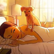 Artist's Illustrations Remind Us To Appreciate The 'Little Moments' With Our Dogs