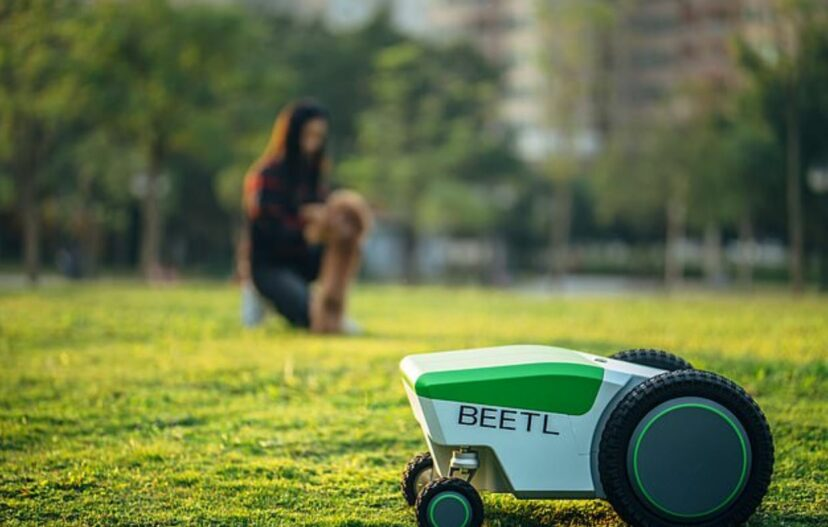 New Robot Will Find, Detect, And Automatically Pick Up Your Dog's Poop