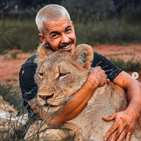 'Lion King of Instagram' under cruelty investigation for punching lion cub