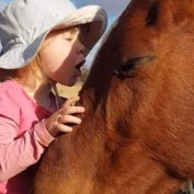 3-Year-Old Girl Gently Sings Horses To Sleep