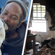 Homeless Man Saves All 16 Animals In Shelter After It Catches Fire