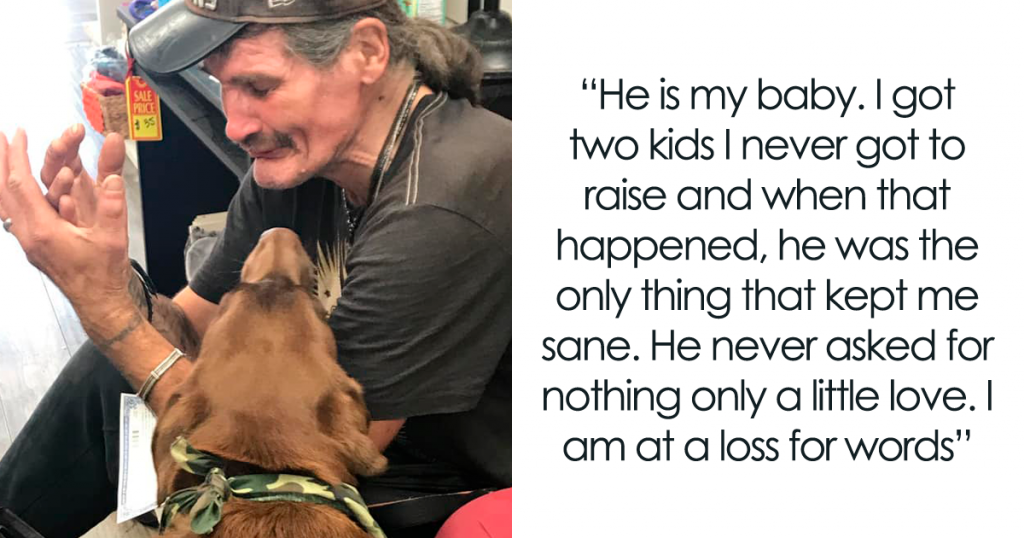 Homeless Man Sheds Tears After Having A Wholesome Reunion With His Missing Labrador